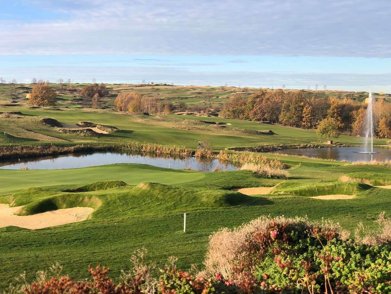 Golfplatz Herzogswalde mit 2 Teichen